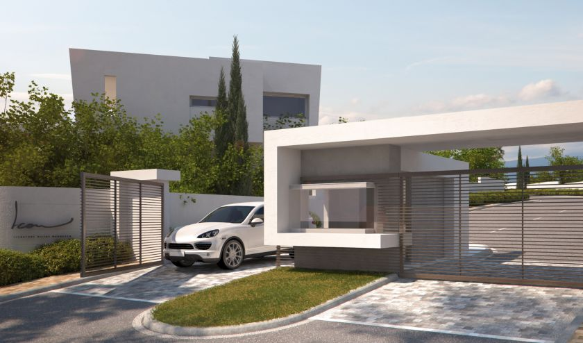 Marbella East, Customized new villas for sale in Santa Clara Golf in Marbella