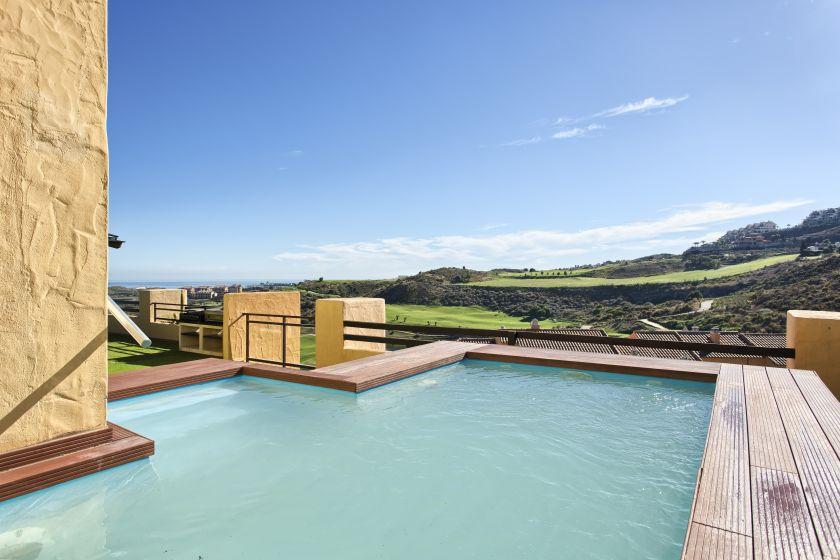 mijas costa spektakulres penthaus zu verkaufen in calanova sea and golf bei mijas costa - Fantastisch Luxus Landhuser