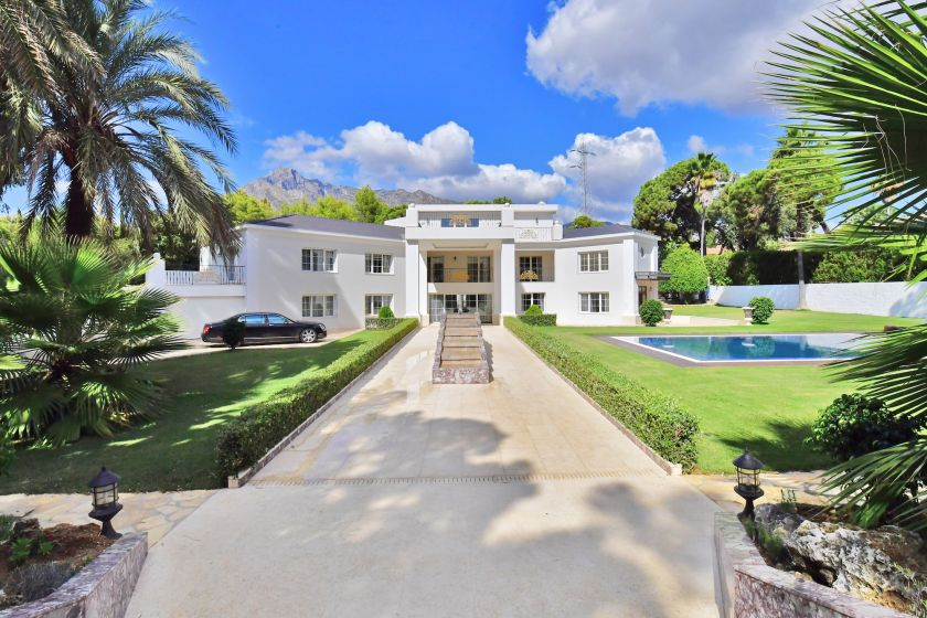 Marbella Golden Mile, Spectacular Villa for sale on the Golden Mile in Marbella