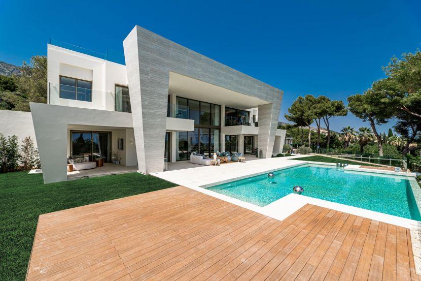 Stunning contemporary villa for sale in Sierra Blanca, Marbella Golden Mile