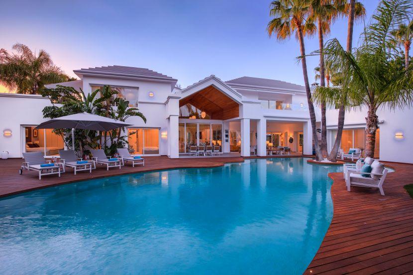 A unique and original luxury villa for sale in Marbella, Guadalmina Baja