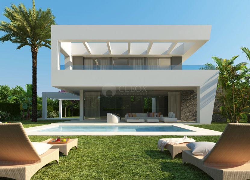 Enjoy the modern life in a new villa at La Finca de Marbella