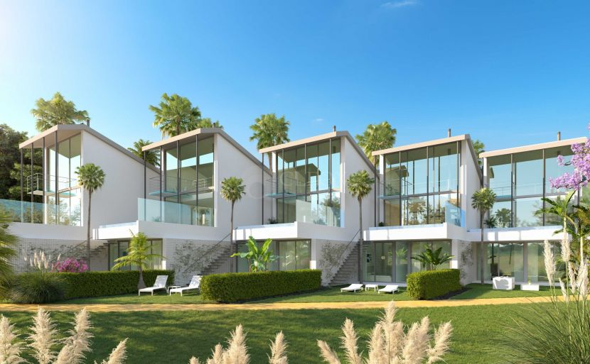 For sale 5 detached off plan villas, with private pool and spectacular sea views