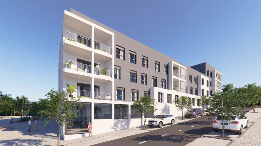 New modern flats in the city centre of San Pedro de Alcantara, Marbella.