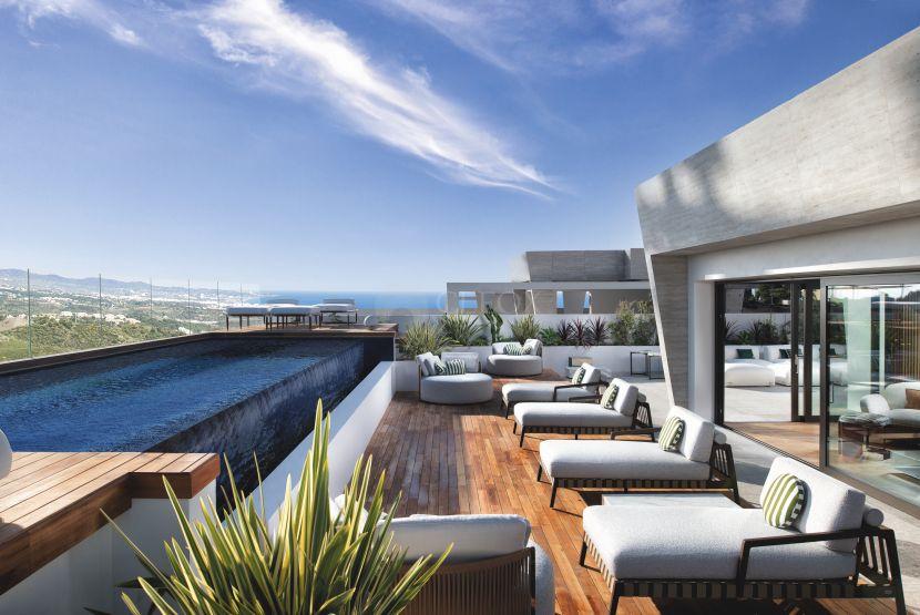 Duplex Penthouse for sale in Epic Marbella, Marbella Golden Mile, Marbella