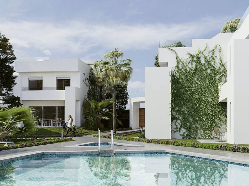 Exclusive brand new modern houses for sale in Nueva Andalucia