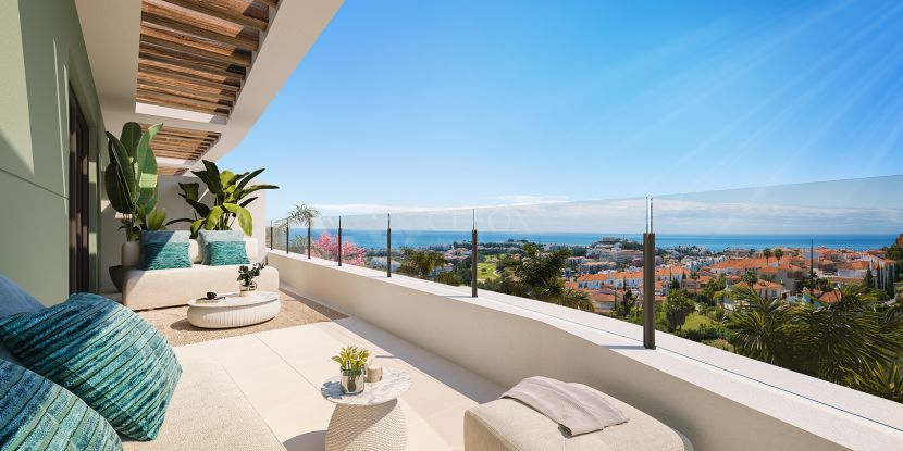 New development of modern apartments, next to Calanova Golf with panoramic views