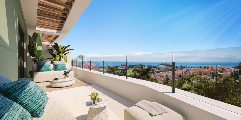New development of modern apartments, next to Calanova Golf with panoramic views