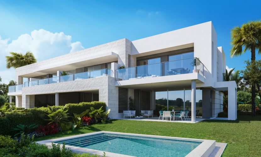 23 modern houses in a gated complex next to Guadalmina Alta, Marbella