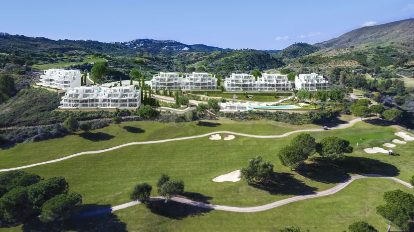 Amazing apartments and penthouses frontline golf in La Cala Resort