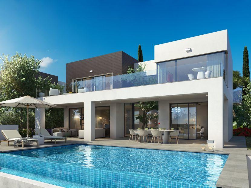Contemporary villas with sea views in La Cala de Mijas