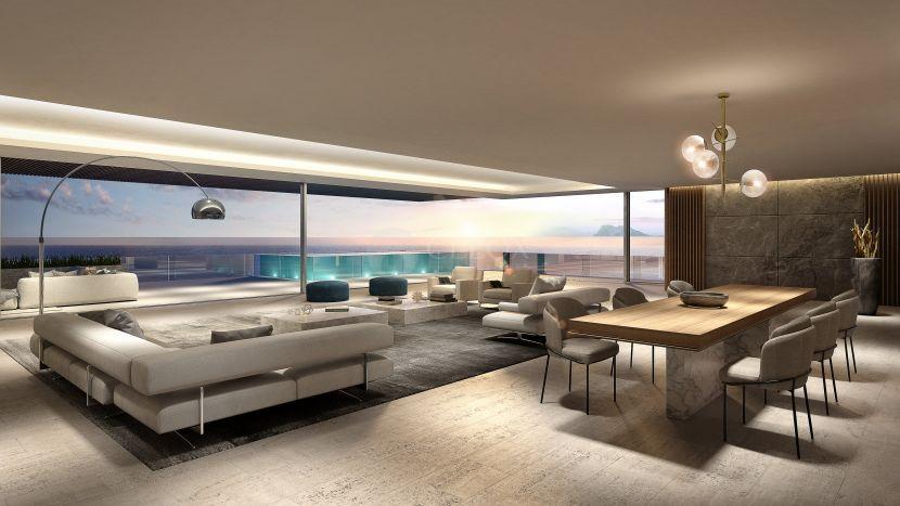 Beachfront luxury homes in the best area of Estepona