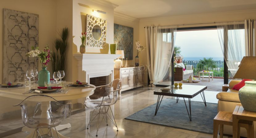 Duplex Penthouse for sale in Monte Halcones, Benahavis