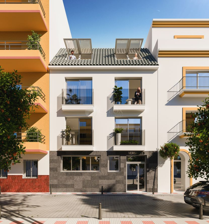 New modern apartments in the old town in Fuengirola center