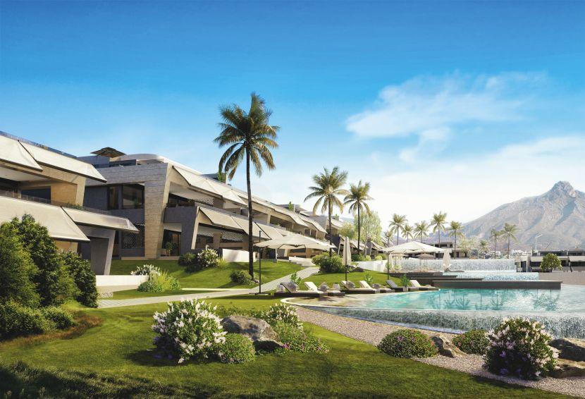 A unique development of luxury homes in Marbella Golden Mile