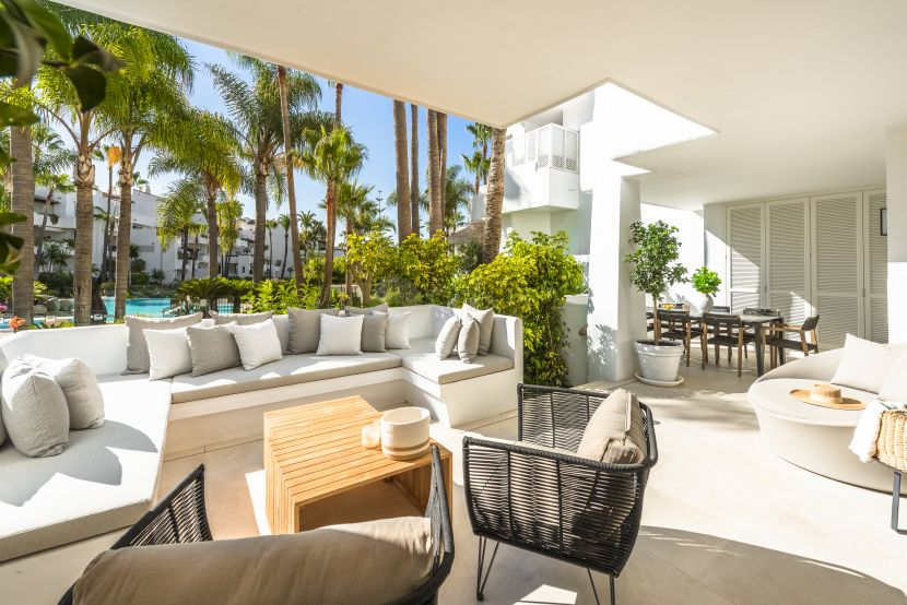 Apartamento Planta Baja en venta en Puente Romano, Marbella Golden Mile, Marbella