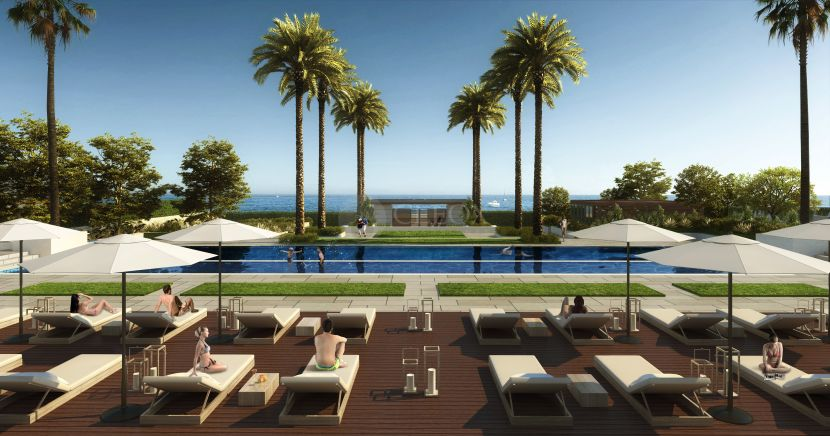 Beachfront apartments, penthouses and villas in the New Golden Mile