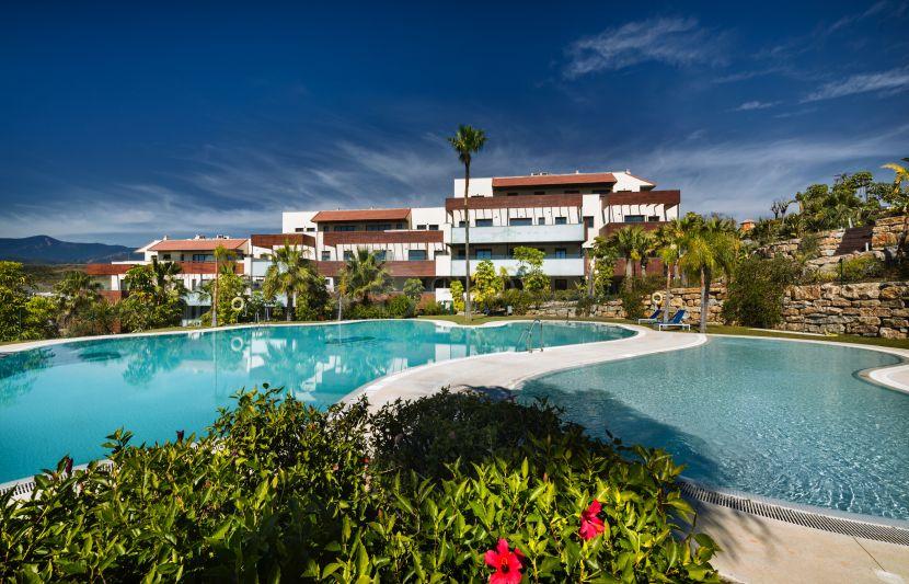 Modern apartments for sale inside Los Flamingos Golf