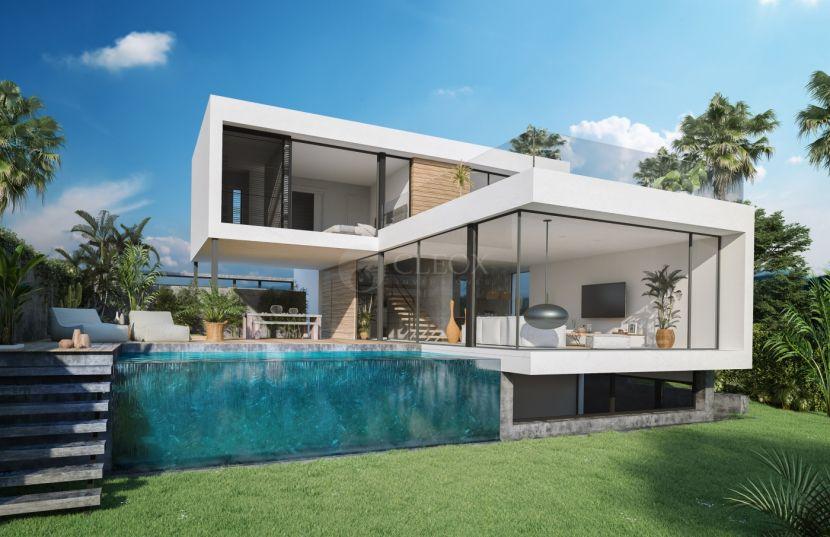 12 luxury design villas frontline golf, between Marbella and Estepona