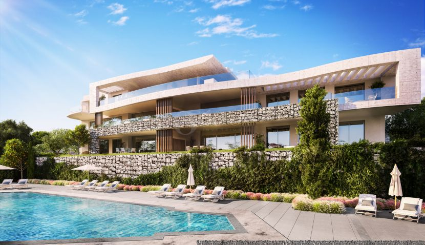New development of luxury apartments in La Quinta Golf