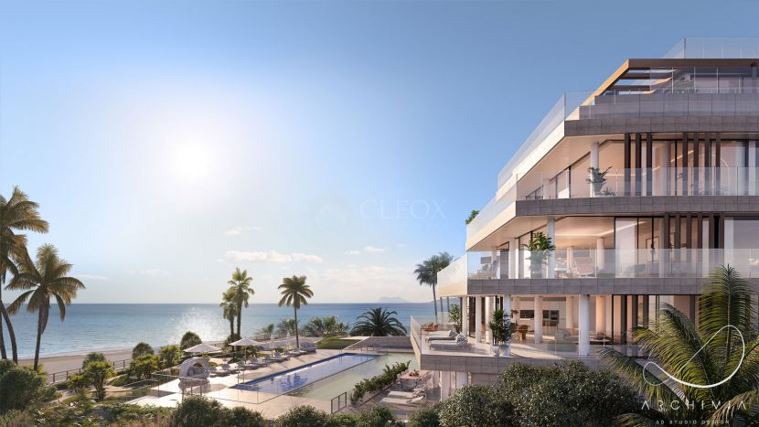14 luxury homes frontline beach, in a unique gated complex