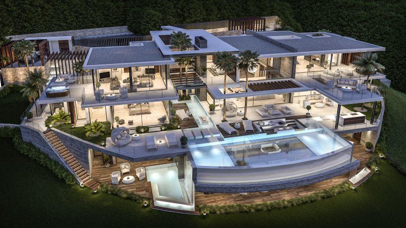 Mansion en venta en La Zagaleta, Benahavis