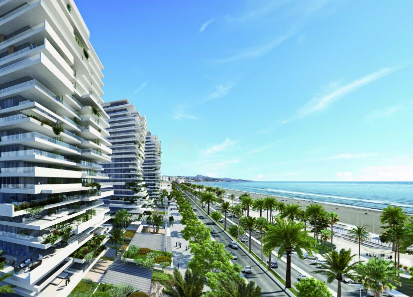 Sierra Blanca Towers is a unique project in Malaga city, frontline luxury apartments with avant garde modern design