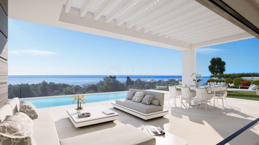 New development of contemporary villas for sale in Calahonda