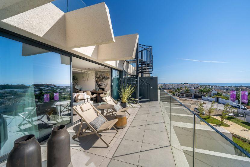 New exclusive contemporary apartments, designed by Joaquin Torres, between Estepona and Marbella.