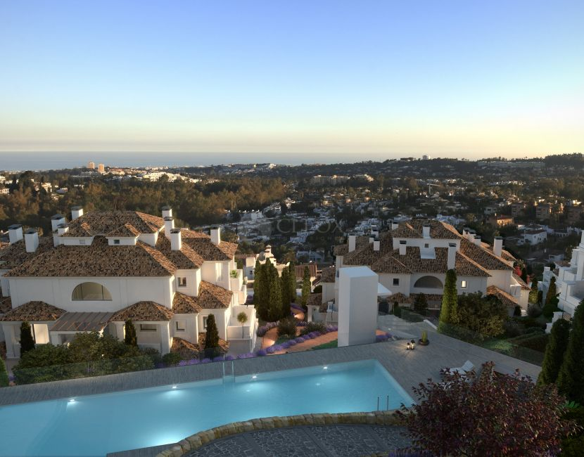 Luxury apartments for sale in Nueva Andalucia, the golf Valley