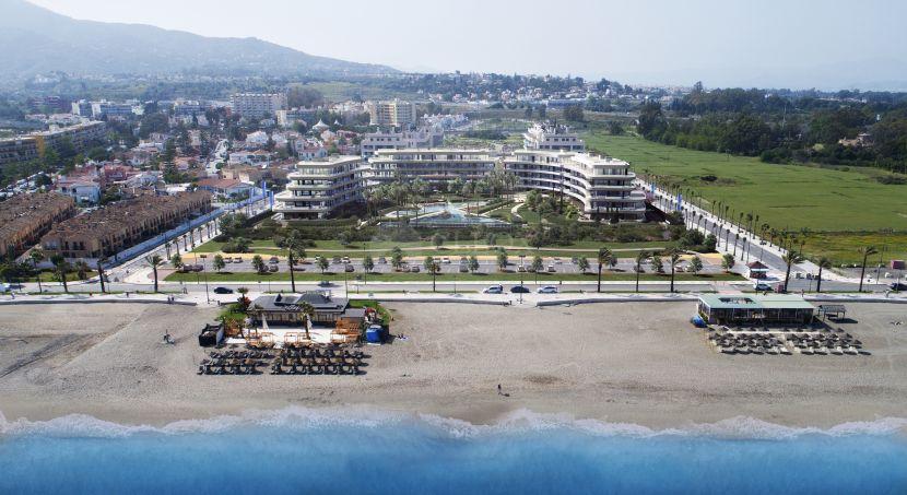 Nuevos apartamentos de 1 a 4 dormitorios frontales al mar a la venta en Torremolinos