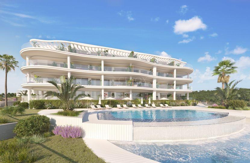 82 apartamentos con un diseño innovador y vanguardista, a 400 m del mar