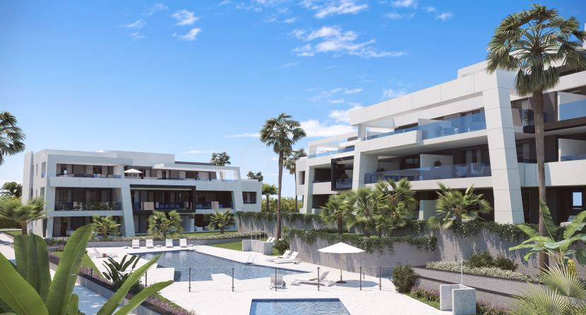 Stunning new boutique project of 72 modern apartments and penthouses in Estepona New Golden Mile