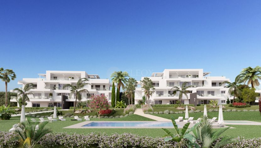Exclusive apartments near the golf courses and the beach in Atalaya Golf.