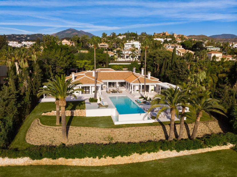 Stunning luxury villa for sale in La Cerquilla, one of the most exclusive areas in Nueva Andalucia, Marbella
