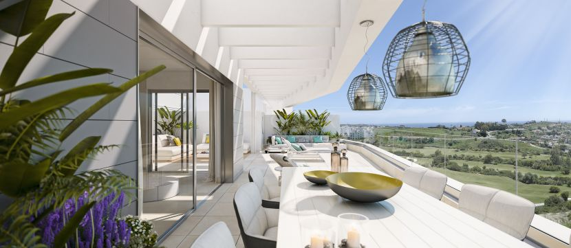 Contemporary new apartments and penthouses in Valle Romano Golf, Estepona