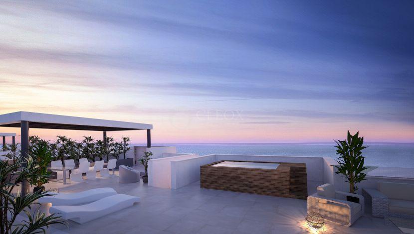 New development in front of the Mediterranean Sea in Fuengirola
