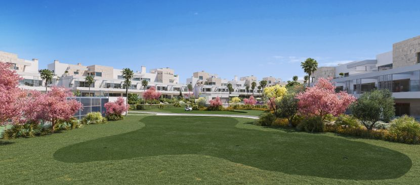 New contemporary apartments in Cancelada, next to Saladillo beach and Flamingos golf