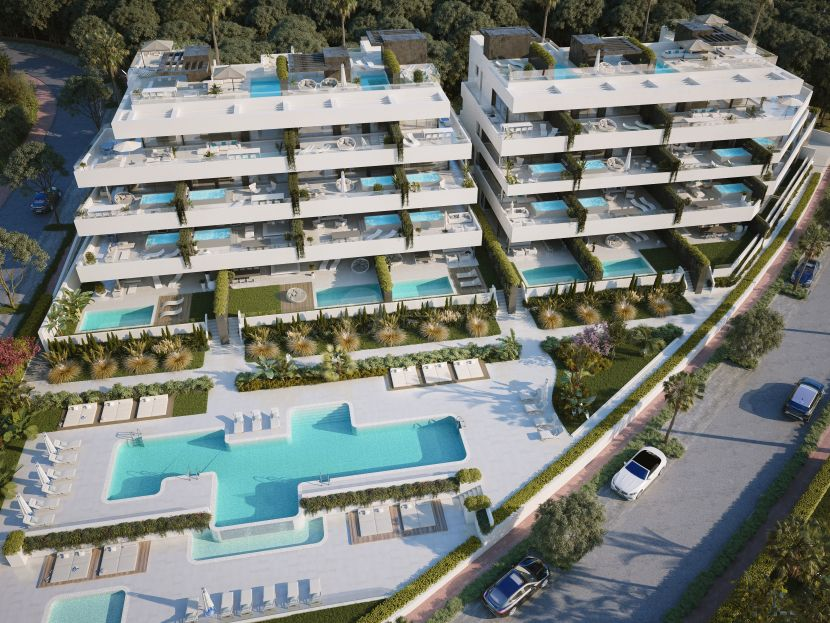 El Campanario Hills, luxury apartments in Estepona New Golden Mile