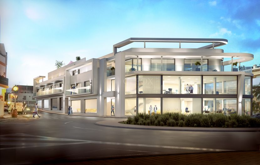 Contemporary apartments in a new building between Marbella and Estepona