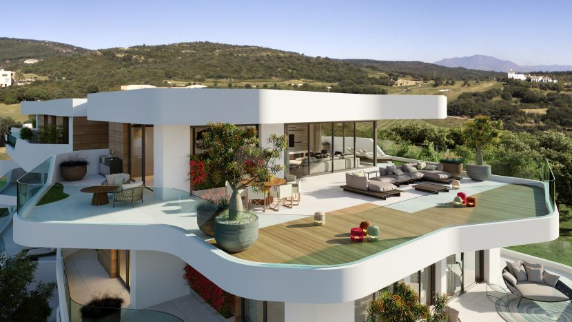 Exclusive modern new development in La Reserva de Sotogrande