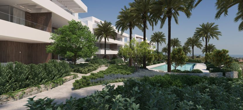 Luxury and contemporary apartments in los Arqueros Golf, Benahavis
