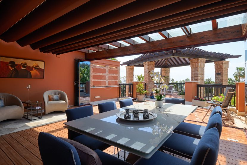 Duplex Penthouse for sale in Casablanca Beach, San Pedro de Alcantara