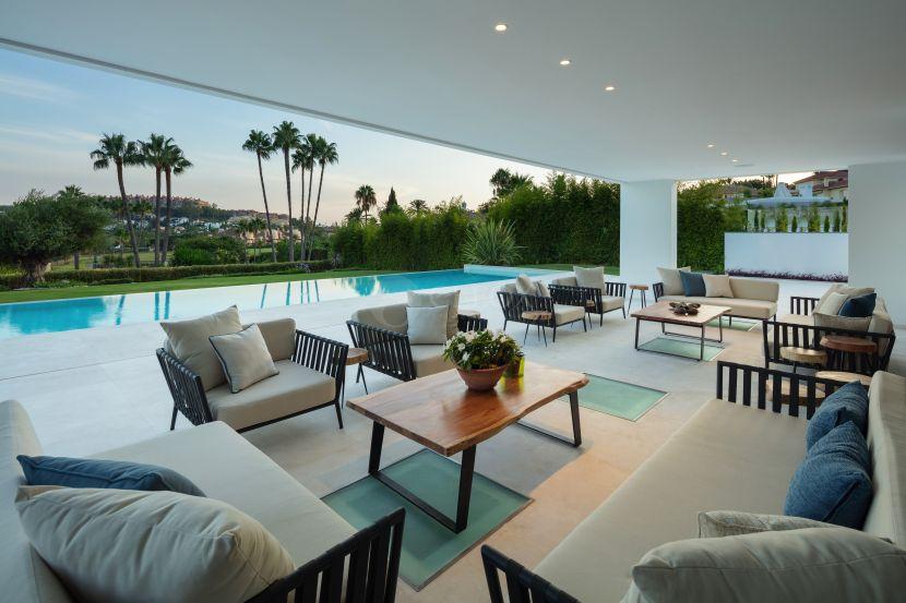 Outstanding contemporary luxury villa for sale in Nueva Andalucia, Marbella