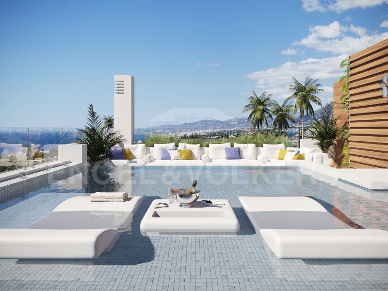 Benalús - 26 Top Luxury Apartments and Penthouses With Private Pools Steps from the Beach, Marbella Golden Mile