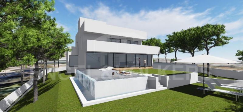 Plot with project and building license in La Carolina