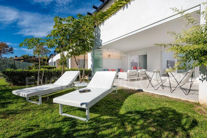 Exquisita Casa Adosada En Terrazas De Santa Clara Golf Los Monteros Los Monteros