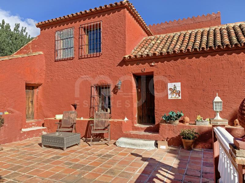 Unique FINCA with riding school, stables & extra house in Mijas Hills