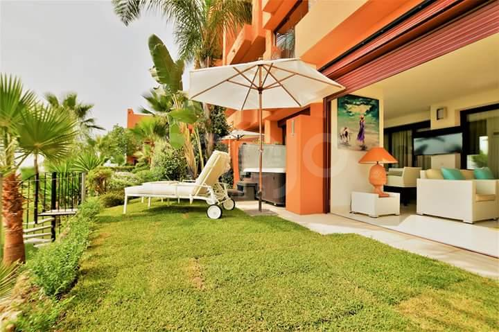 Prachtig gelijkvloers appartement Los Flamingos