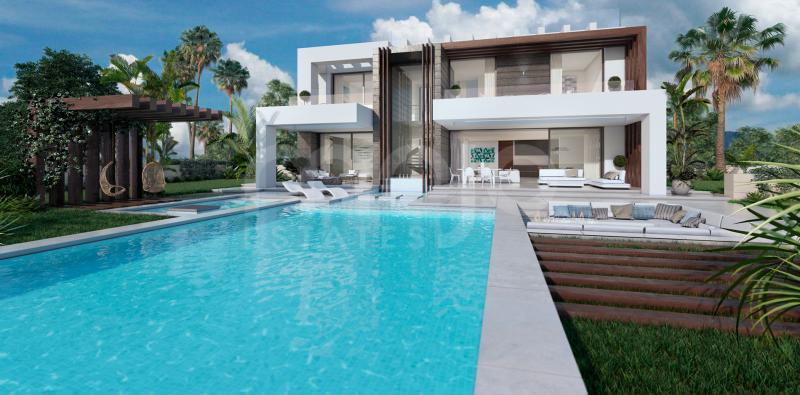 A modern villa with spectacular sea views from any corner of the house